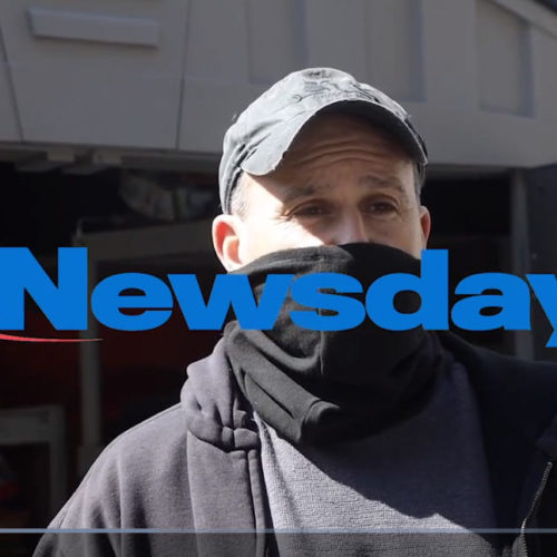 Newsday Interview with Nobody Starves on Long Island During Pandemic